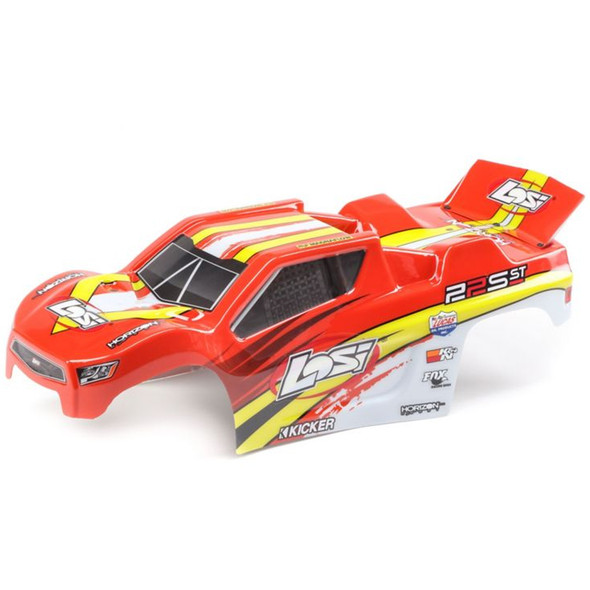 Losi LOS230057 Red / Yellow Painted Body Set : 22S ST