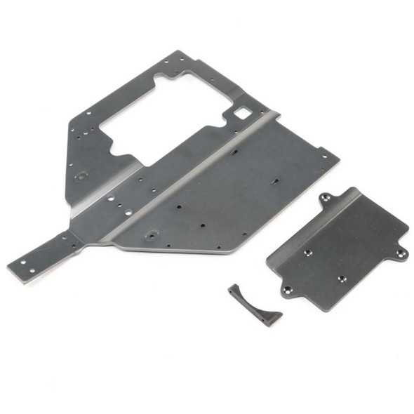 Losi LOS251061 Chassis and Motor Cover Plate : Super Baja Rey