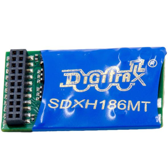 Digitrax SDXH186MT Premium 16-Bit SoundFX Mobile Decoder w/ 21MTC interface
