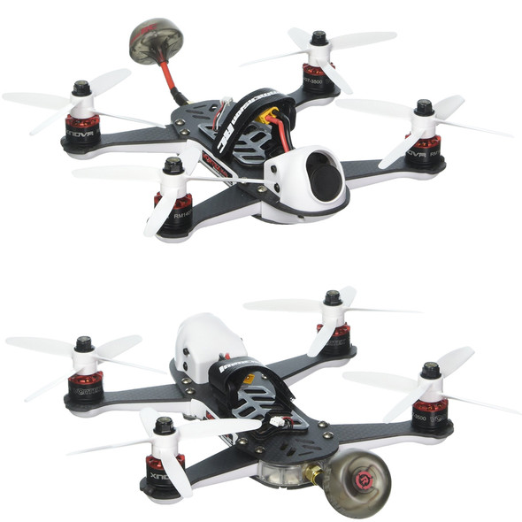 Immersion RC V18MSTDIN Vortex 180 Mini ARTF Quadcopter Racing Drone White 180mm