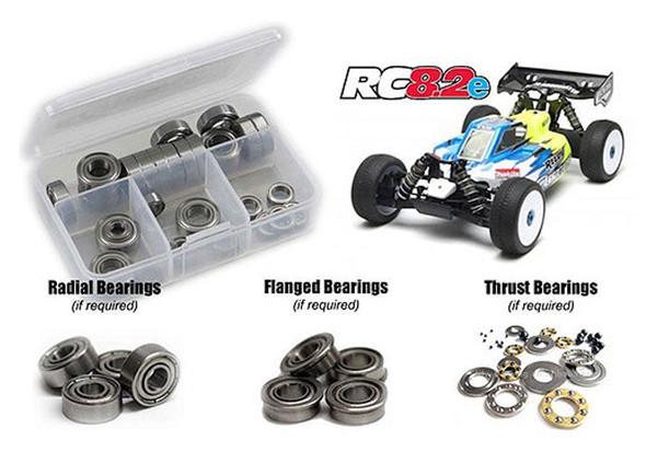 RC Screwz Precision Shielded Bearing Kit RC 8.2e ASS045B