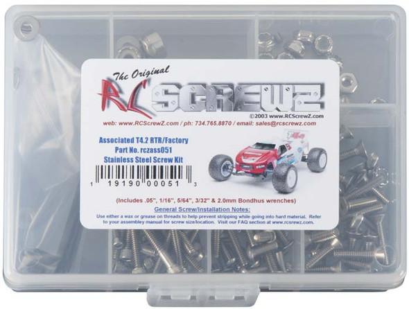 RC Screwz ASS051 Stainless Steel Screw Kit T4.2 RTR