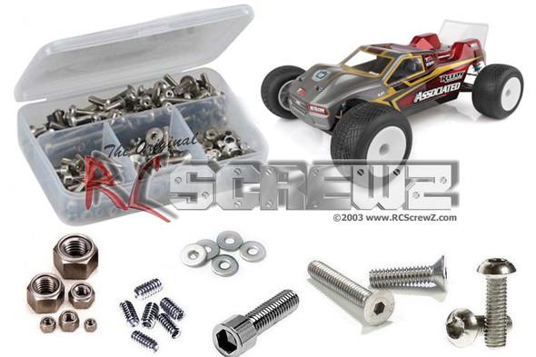 RC Screwz ASS095 Associated RC10T6.1 Team Stainless Screw Kit