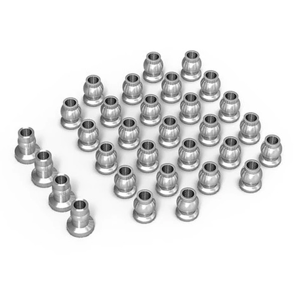 Gmade GM30144 Aluminum Ball Set Silver : GS02 BOM
