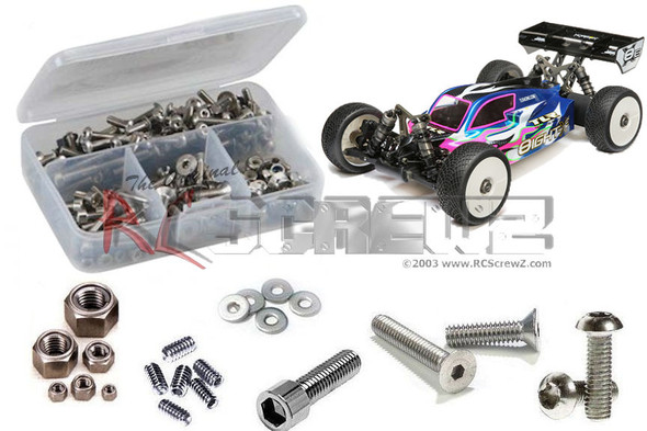 RC Screwz LOS105 Losi 8ight-Xe 1/8th Buggy Stainless Screw Kit