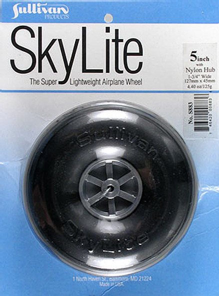 "Sullivan S883 SkyLite Wheel 5"" (1) Airplane"