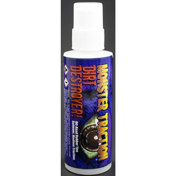 Trinity TEP5006 Dirt Destroyer Tire Traction for Rubber Tires 4oz Bottle