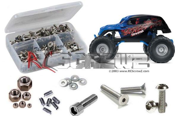 RC Screwz TRA057 Traxxas Skully Monster Truck Stainless Steel Screw Kit