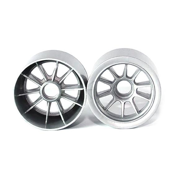 Tuning Haus TUH1180 F1 Foam Front Wheels (2) Gunmetal use w/ Shimizu Rubber