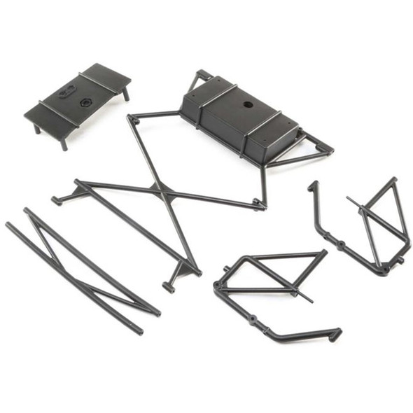 Losi LOS251055 Rear Body Mount Bar Left and Right X-Bar : Super Baja Rey