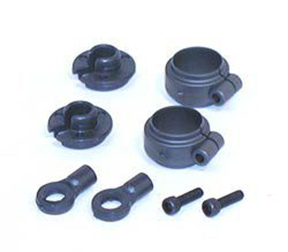 Losi LOSA5023 Shock Spring Clamps & Cups for XXX-SCT