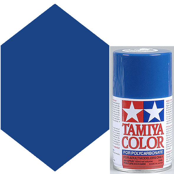 Tamiya Polycarbonate PS-4 Blue Spray Paint 86004