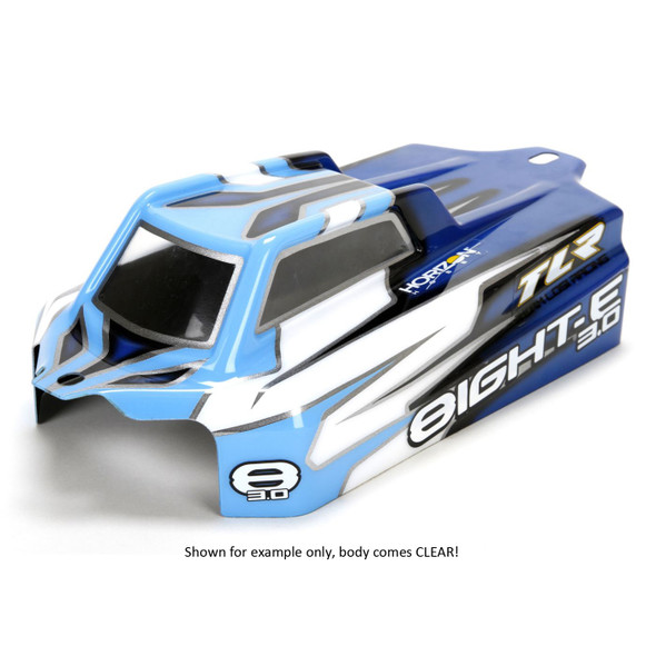Losi TLR340002 Clear Cab Forward Body Set 8IGHT-E 3.0