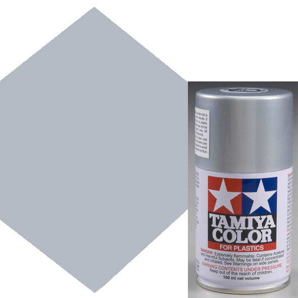Tamiya TS-83 Metallic Silver Lacquer Spray Paint 3 oz