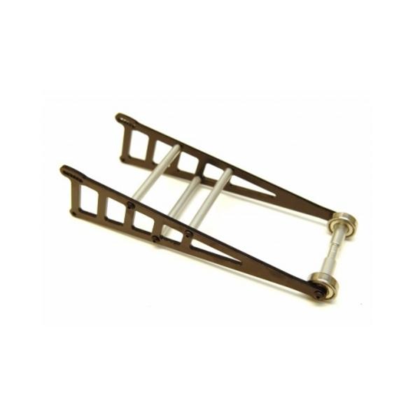 STRC ST3678WBK Aluminum Wheelie Bar Kit : Slash 2WD / Rustler / Bandit Black
