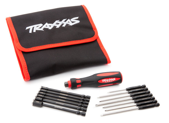 Traxxas 8710 Premium 13- Piece Metric Speed Bit Master Set w/ Carrying Case