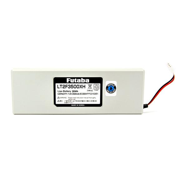 Futaba UBA0139 7.4V 3500mAh LiPo Battery LT2F3500XH : T18MZ