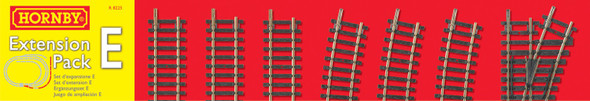 Hornby R8225 Track Extension Pack E : OO / HO Scale