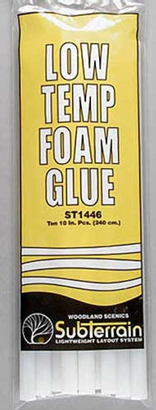 Woodland Scenics ST1446 Low Temp Glue Sticks (10)