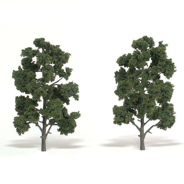 Woodland Scenics Medium Green Trees 8-9in (2)