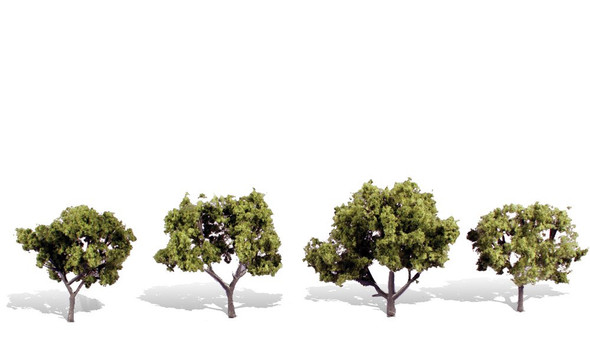 Woodland Scenics Early Light Trees 2-3in (4)