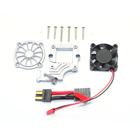 GPM Racing Aluminum Motor Cooling Fan with Easy Switch : Traxxas TRX-4