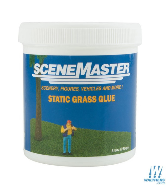 Walthers 949-1200 Static Grass Glue 8.8oz / 250g HO Scale