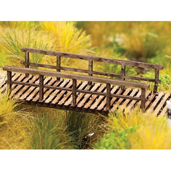 "Walthers 949-4128 Foot Bridge Kit - 2-3/8 x 7/8 x 1/2""  / 6 x 2.2 x 1.3cm HO Scale"