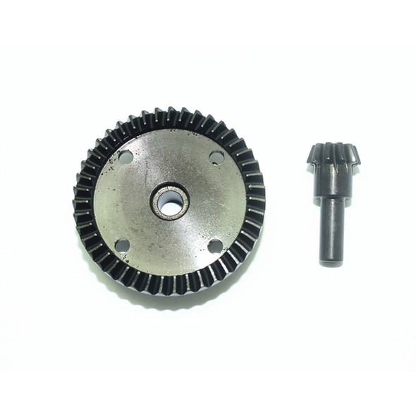 GPM Racing Harden Steel #45 Diff Bevel Gear 43T & Pinion Gear 10T : Kraton / Outcast