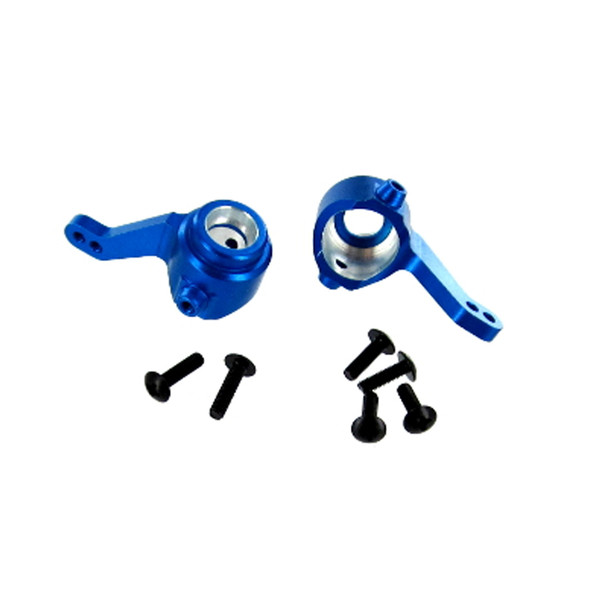 Redcat 02131 Aluminum Front Steering Knuckle (2) Blue : Lightning EP Drift / EPX PRO