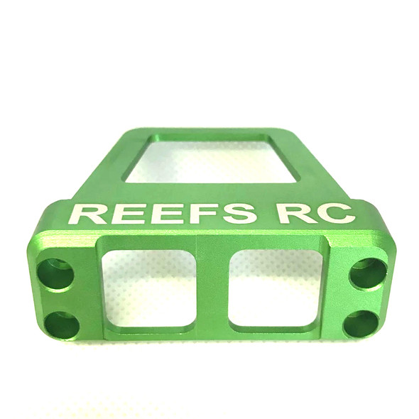 Reef's RC SEHREEFS19 CNC Machined Aluminum Servo Shield - Green