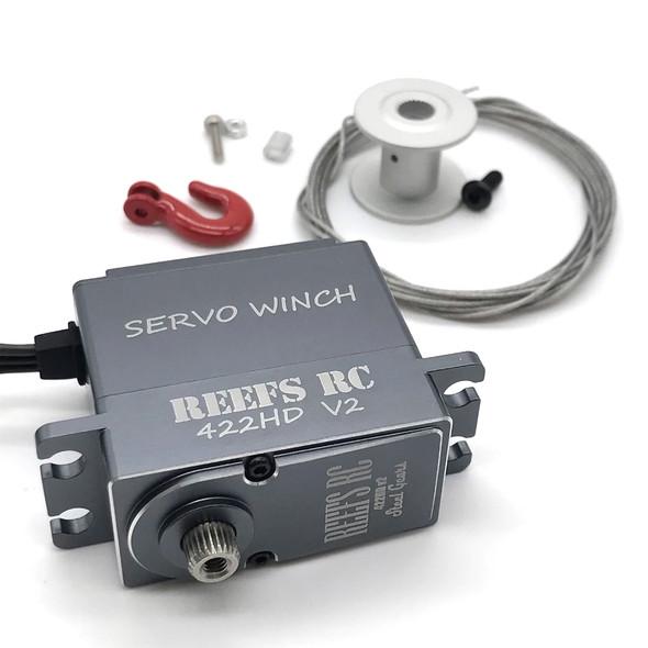 Reef's RC SEHREEFS43 422HDv2 High Torque Digital Servo Winch w/ Built In Controller