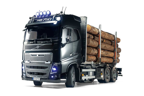 Tamiya 56360 1/14 Volvo FH16 Globetrotter 750 Timber On-Road Truck Kit