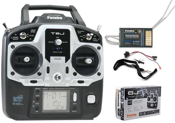 Futaba 6J 6-Channel 2.4GHz S-FHSS Radio System w/ R2006GS Receiver FUTK6000