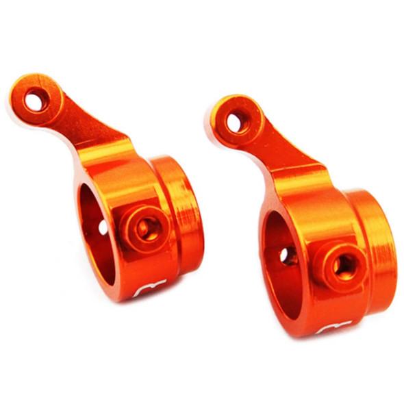 Hot Racing DMD2103 Aluminum Front Steering Knuckle Orange 2 Dromida BX4.18 Buggy
