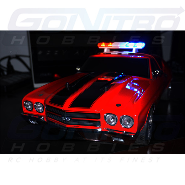 Nitro Hobbies The Cop Kit Police Oval Led R/C Lights (Super Bright)