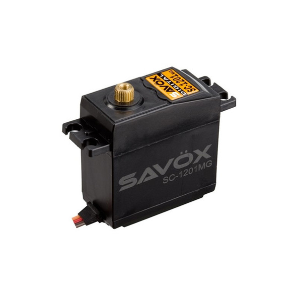 Savox SC-1201MG Hi Torque Tall Case Coreless 25Kg 0.16s Digital Servo