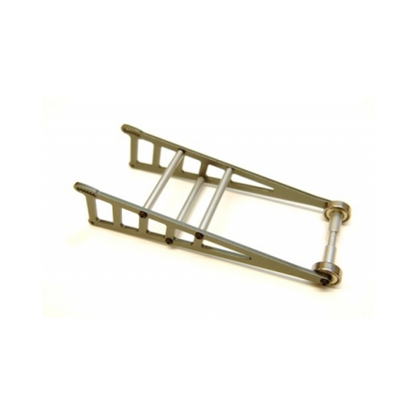 STRC ST3678WGM Aluminum Wheelie Bar Kit : Slash 2WD / Rustler / Bandit Gun Metal