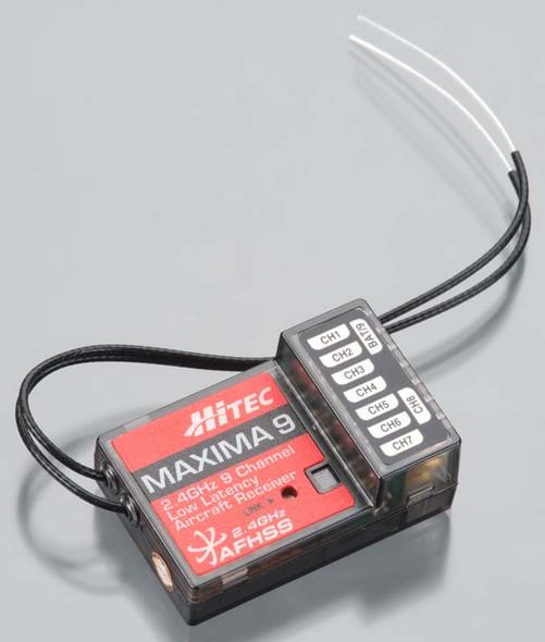 Hitec 27525 Maxima 9 9Ch Low Latency/Non-Telemetric Receiver