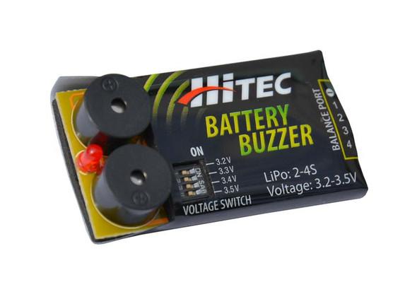 Hitec 44210 Battery Buzzer Low-Voltage Battery Alarm