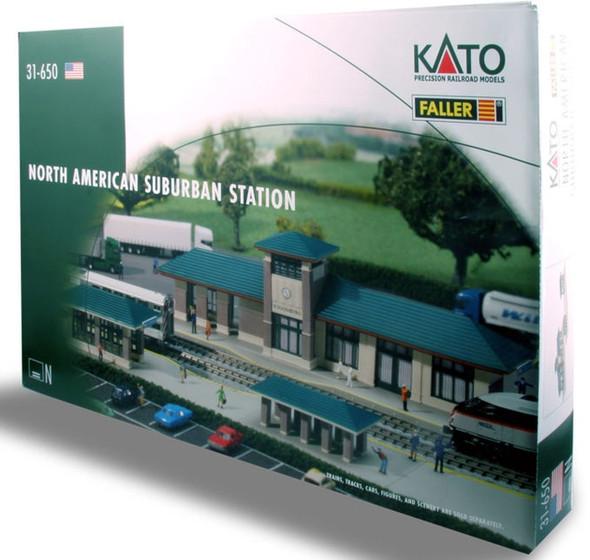 Kato 31650 North American Suburban Station Kit N Scale