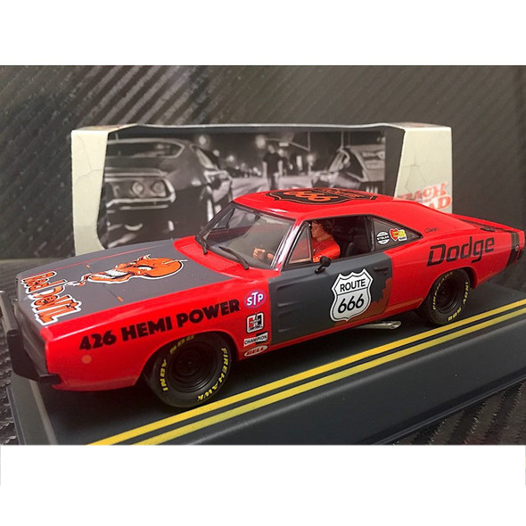 Pioneer P022 Dodge Hemi Charger Red Devil Street Racer Slot Car 1/32 Scale