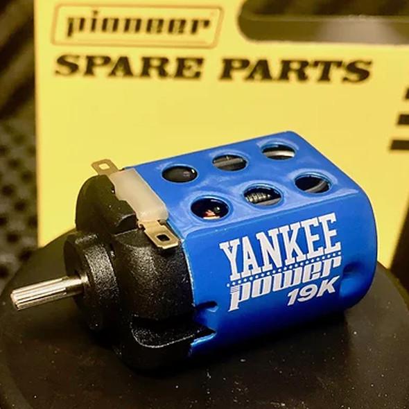 Pioneer MT200234 Yankee Power Motor 19000RPM at 12vDC 1/32 Slot Car