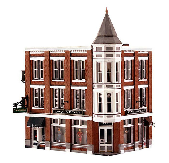 Woodland BR4938 Scenics Davenport Department Store N Scale