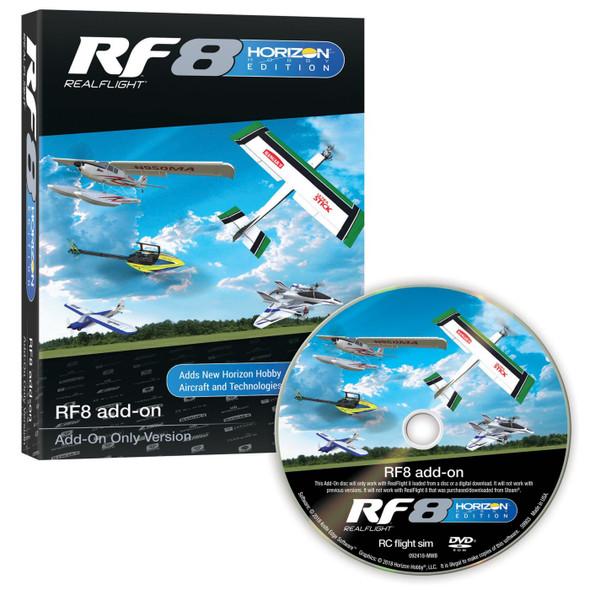 Real Flight RF8 Horizon Hobby Edition Add-On Disc : RealFlight version 8  RFL1002