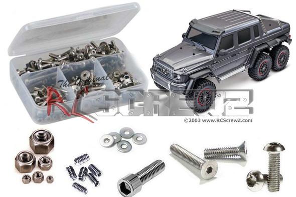 RC Screwz TRA090 Traxxas TRX-6 Crawler 1/10th Stainless Steel Screw Kit