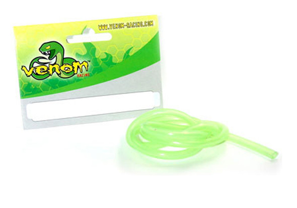 Venom 2' Ultra Fuel Tube, Transparent Green 6pcs VEN2040TG