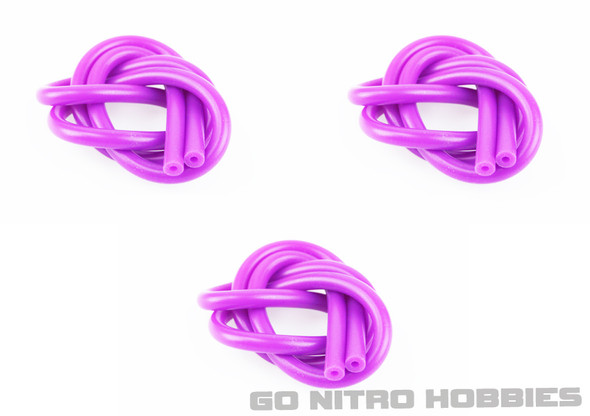 Venom 2' Ultra Fuel Tube,Purple 3pcs VEN2040PU