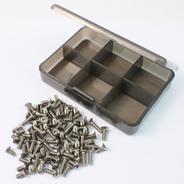 Yeah Racing TS-EGRESS Titanium Screw Assorted Set w/ FREE Mini box :Tamiya EGRESS