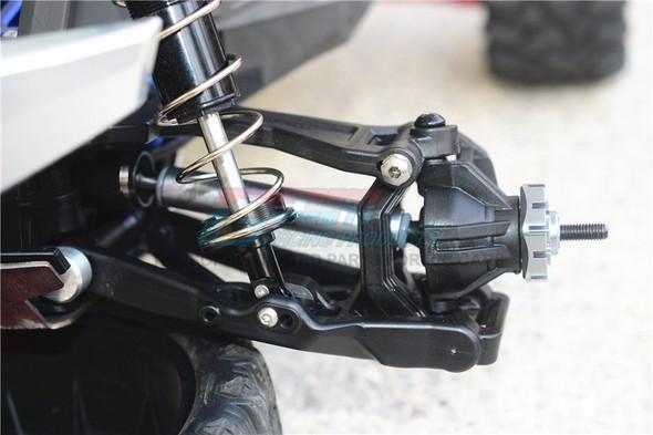 GPM Harden Steel F/R Adjustable CVD Drive Shaft + Hex Adapter Black : Maxx